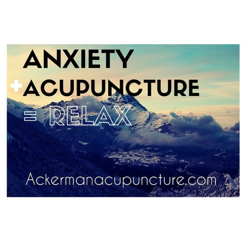 Acupuncture: the Natural Alternative to Treat Anxiety (near Andover, MN)