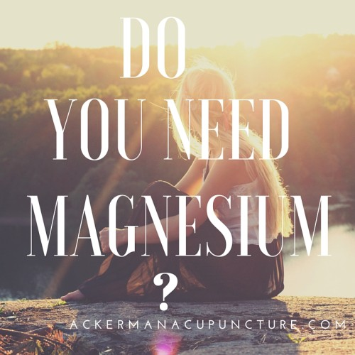 Anxiety, Low Energy, Headaches and Muscle Aches: Get Magnesium for Pain Relief (in Anoka)