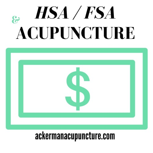 Does Health Savings Account (HSA) or Flex Spending Account (FSA) Cover Acupuncture (in Anoka)?