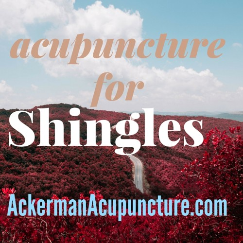Shingles, Can Acupuncture Help (near Andover, MN)?