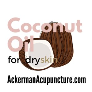 Coconut oil skin