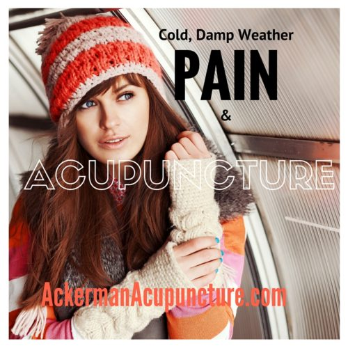 Headaches, Muscle Tension and Joint Pain during Cold, Damp Weather and How Acupuncture Can Help (in Anoka)
