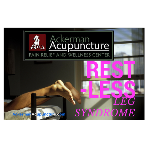Treat Restless Legs Syndrome with Acupuncture (near Andover, MN)