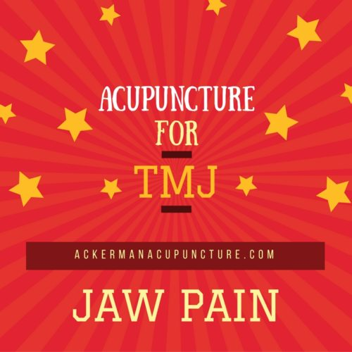 Relief for TMJ Jaw Pain and Headaches with Acupuncture (near Andover, MN)