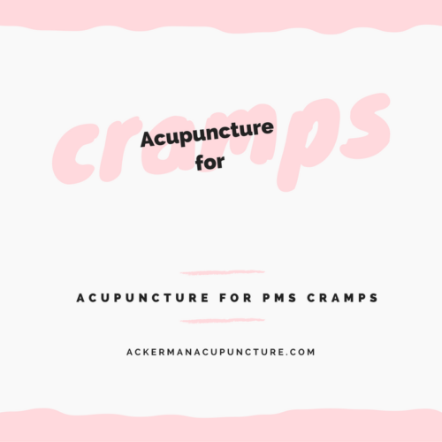 Acupuncture Works for Period Cramps (in Anoka, MN)!