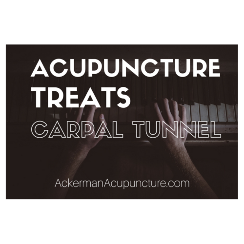 Acupuncture Treats Carpal Tunnel (near Andover, MN)