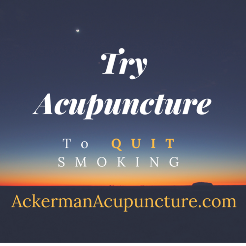 Quit Smoking with Acupuncture (in Anoka, MN)