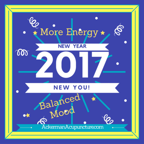 Get More Energy and Balanced Mood For the New Year at Ackerman Acupuncture (near Andover, MN)