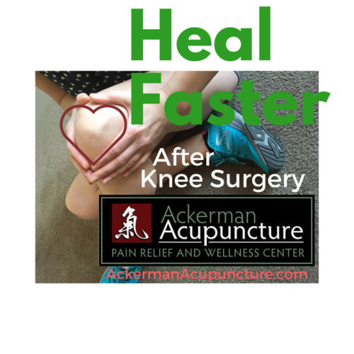 Heal Faster after Knee Surgery with Acupuncture (in Anoka, MN)
