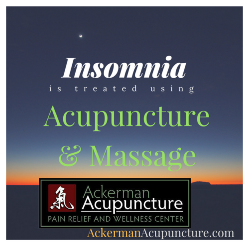 Improve Sleep with Acupuncture and Massage (in Anoka)!
