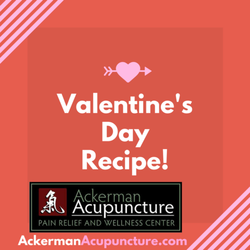 Valentine's Day (Healthy) Fudge Brownies Recipe at Ackerman Acupuncture (in Anoka, MN)