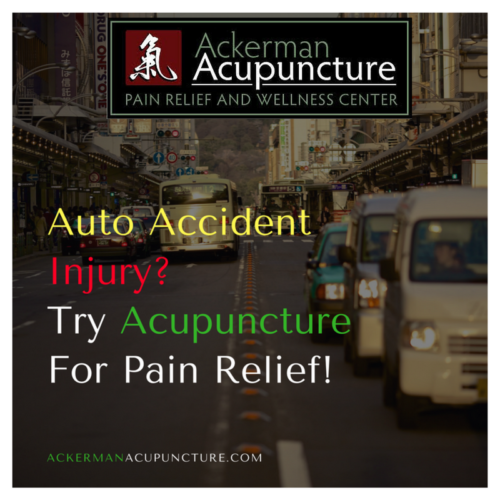 Auto Accident Injury Pain Relief Using Acupuncture (in Anoka, MN)