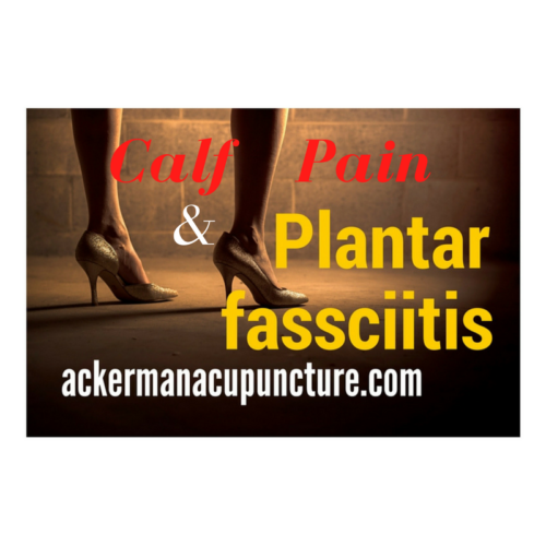 Why Treat Calf Pain A.S.A.P. at Ackerman Acupuncture  (in Blaine, MN)