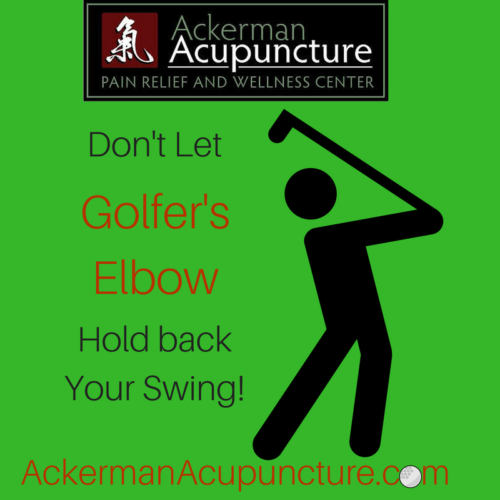 Don't Let Golfer's Elbow Hold Back Your Swing (In Anoka, MN)!